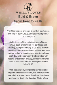Bold and Brave Conference One Sheet