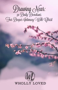 Cover image for Wholly Loved giveaway devotional