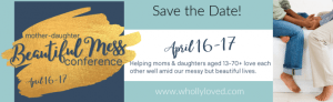 Mother Daughter Conference Banner