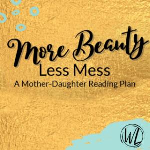 Mother-daughter reading plan logo