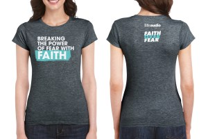 Front and back view of t-shirt