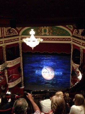 Seeing Riverdance at the Gaiety Theatre!