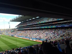 Inside Croke Park, home of the GAA