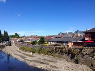 Exploring Ballsbridge on a sunny day