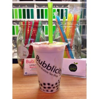 Not coffee, but delicious bubble tea