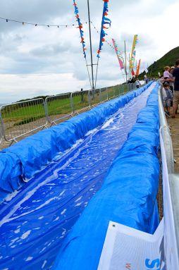 Giant slip-n-slide!