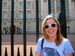Claire at Buckingham Palace