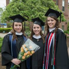Best friends and college grads