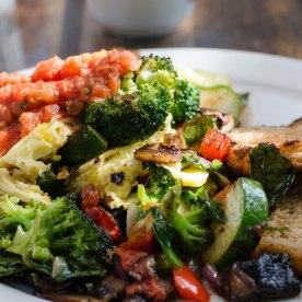 veggie scramble, yum!