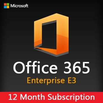 Microsoft Office 365 Enterprise E3 1 year