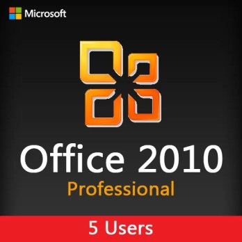 MICROSOFT OFFICE 2010 Pro 5 users