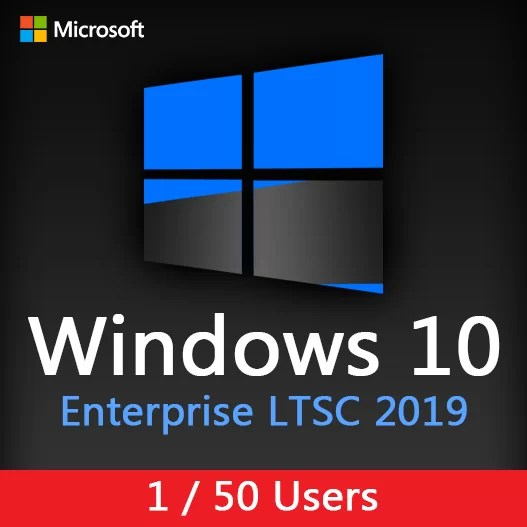 Windows 10 Enterprise LTSC 2019 - 1 / 50 PC