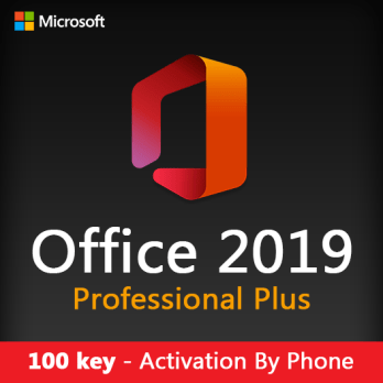 100 key Office Professional Plus 2019 Activation By Phone