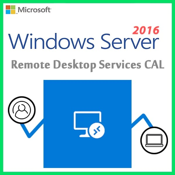 Windows Server 2016 Remote Desktop Services CAL