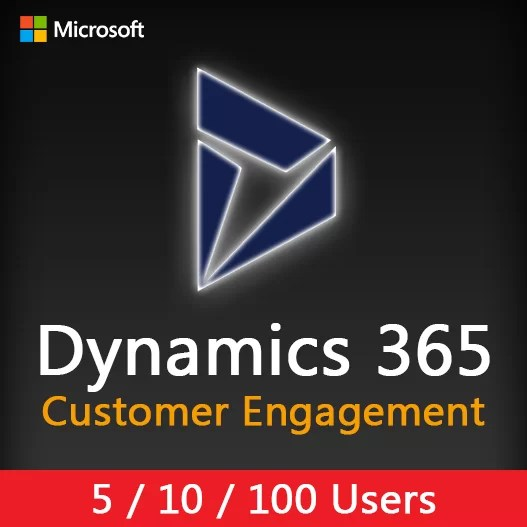 Dynamics 365 Customer Engagement Plan (5/10/100 Users)