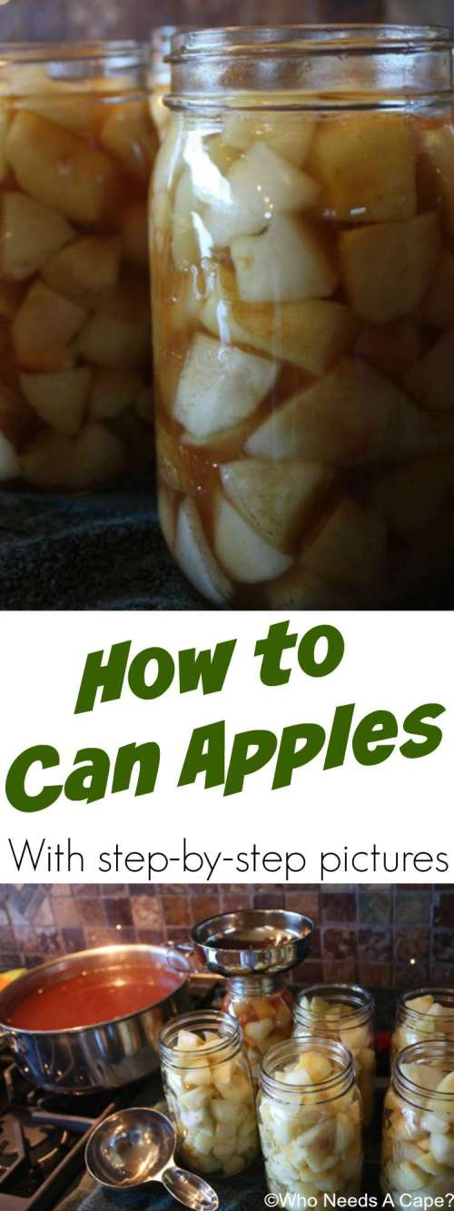 Grab those apples during harvest season and get canning. Presenting step by step instruction on How to Can Apples, you'll love how simple this really is.