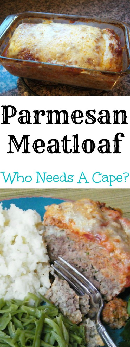 Parmesan Meatloaf is a delicious alternative to traditional meatloaf. With classic Italian flavors and cheese it takes comfort food to the next level.