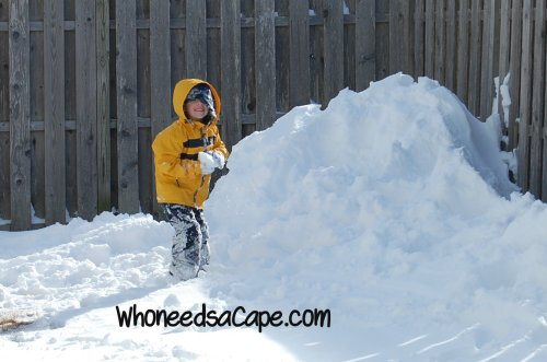 What to do in the Winter with no snow to play in! ~ Who Needs a Cape?