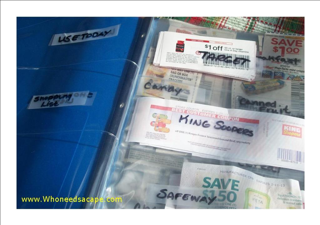 If you love couponing, find out How to Organize Your Coupons the Binder Method. We've shared some tips we use to help you get organized.