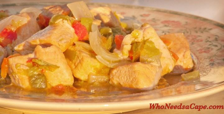 Crockpot GreenChili Pork Stew