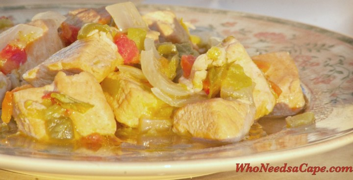 As part of 40 Meals in 4 Hours, Crockpot Green Chile Pork Stew is a wonderful meal delivered from the convenience of your slow cooker.