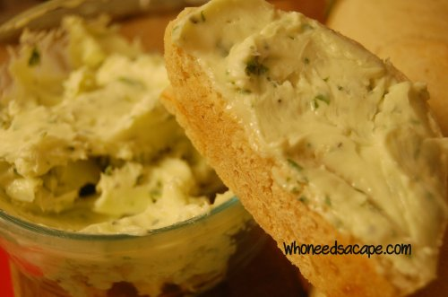 Herb butter ~ Who Needs a Cape?