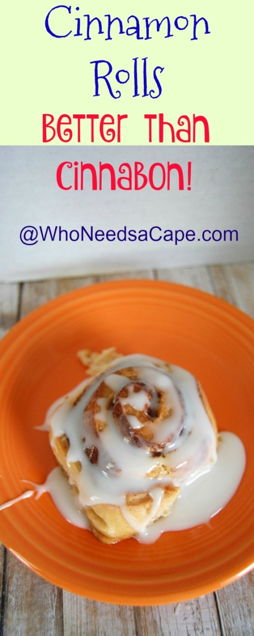 Homemade Cinnamon Rolls that are better than Cinnabon...yes, they are!!! Great for brunch, holiday breakfast or a special weekend, amazing and easy to make!