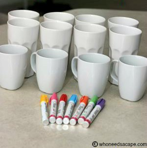 Sharpie Mugs and Cups