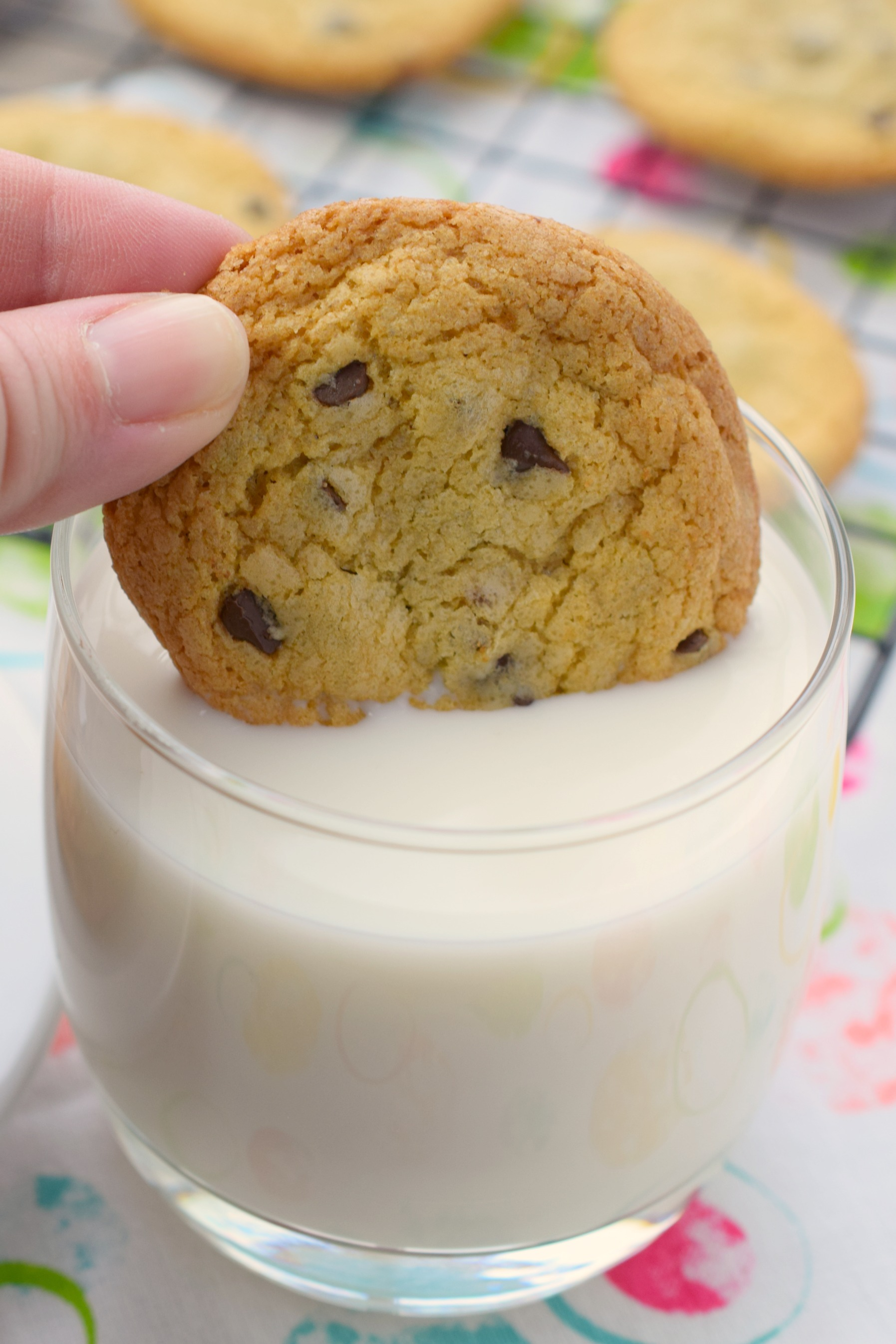 No Butter Chocolate Chip Cookies Who Needs A Cape