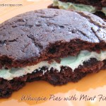 Whoopie Pies with Mint Filling