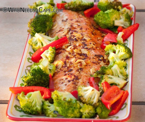Orange Glazed Ginger Salmon