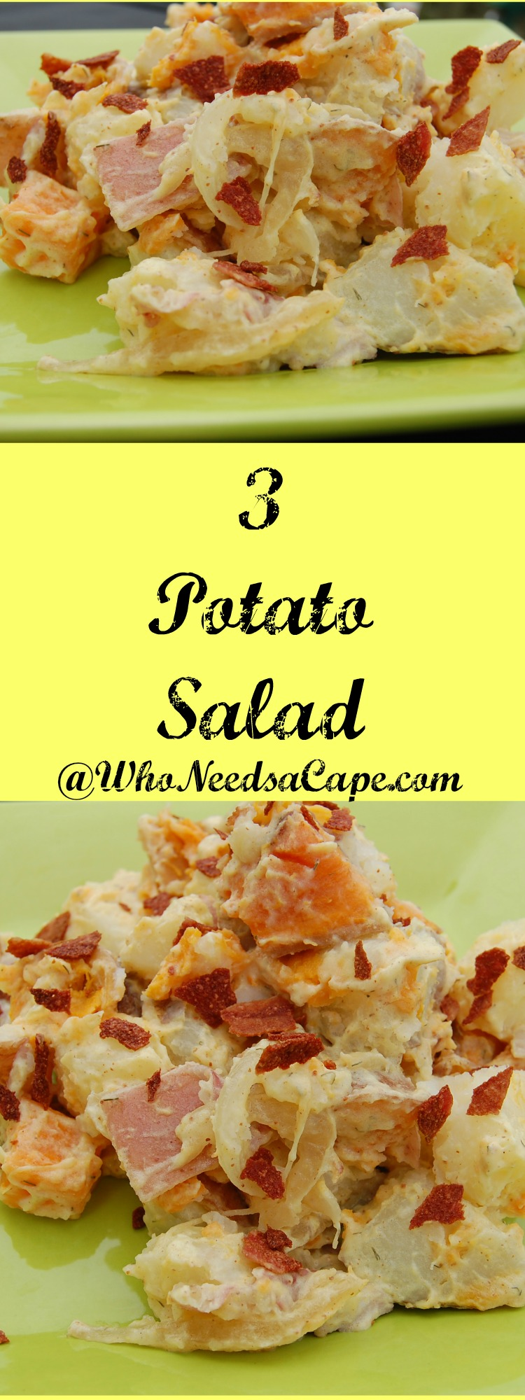 If You Love Traditional Potato Salad Than You Simply Must Try 3 Potato Salad Easy