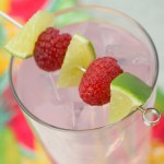 Raspberry Lemonade Moscato Wine Spritzer