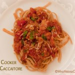 Slow Cooker Chicken Cacciatore | Who Needs A Cape?