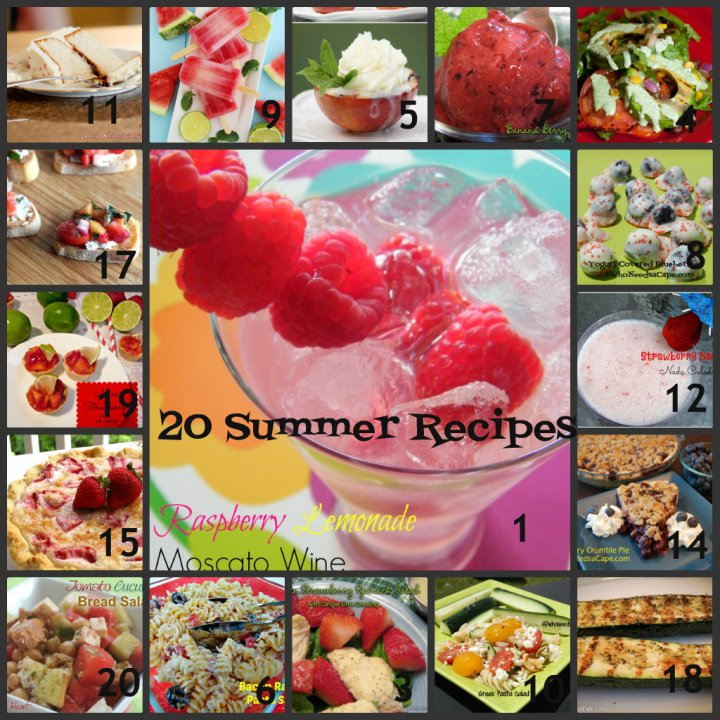 20 Summer Recipes