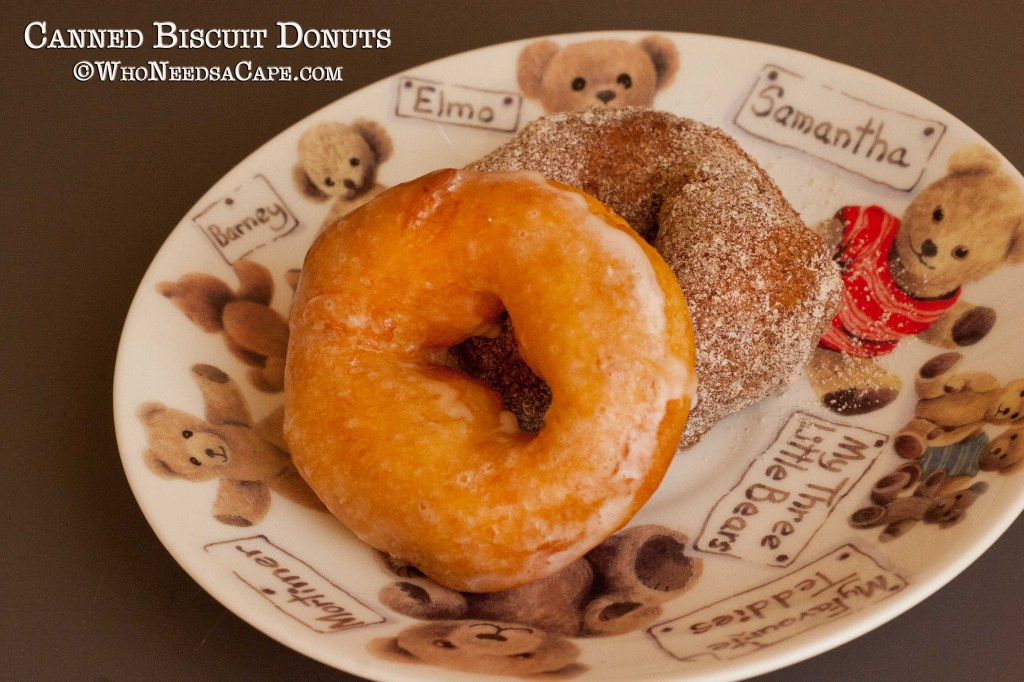 Canned Biscuit Donuts are an easy way to get your doughnut fix! Make them for breakfast or weekend brunch, so yummy and delicious!