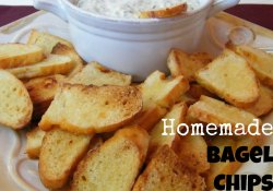 Homemade Bagel Chips