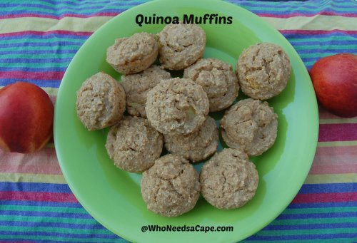 Quinoa Muffins | Who Needs A Cape?