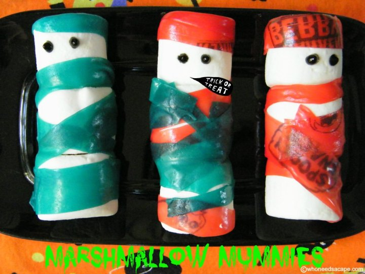 Marshmallow Mummies | Who Needs A Cape?