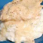 Slow Cooker Chicken & Gravy