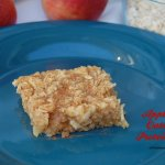 Apple Pie Oatmeal Protein Bars