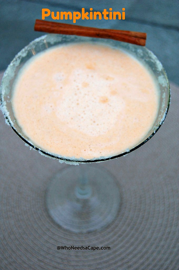 A Pumpkintini Cocktail is the perfect fall cocktail for celebrating the season. A crowd pleaser and a delicious dessert martini, great for the holidays!