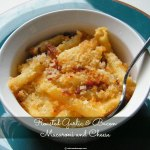 Roasted Garlic & Bacon Macaroni and Cheese