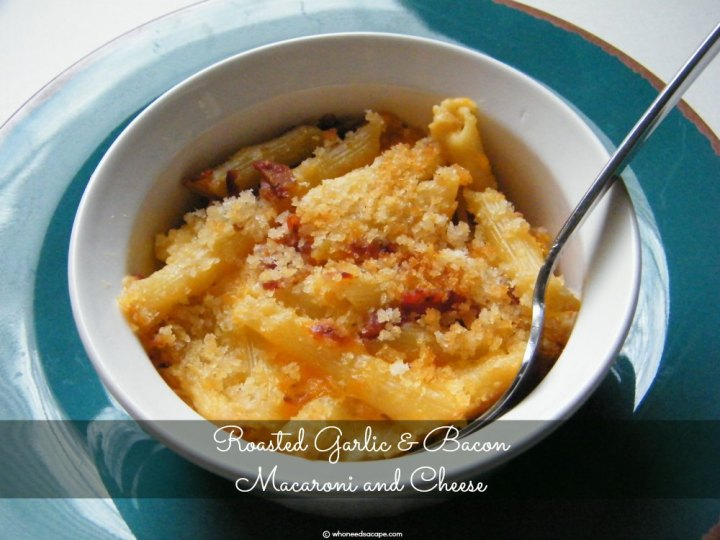 Take your pasta up a notch with Roasted Garlic & Bacon Macaroni and Cheese. With mellow garlic, and crisp bacon you'll find these flavors are irresistible.