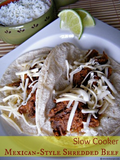 Slow Cooker Mexican Style Shredded Beef