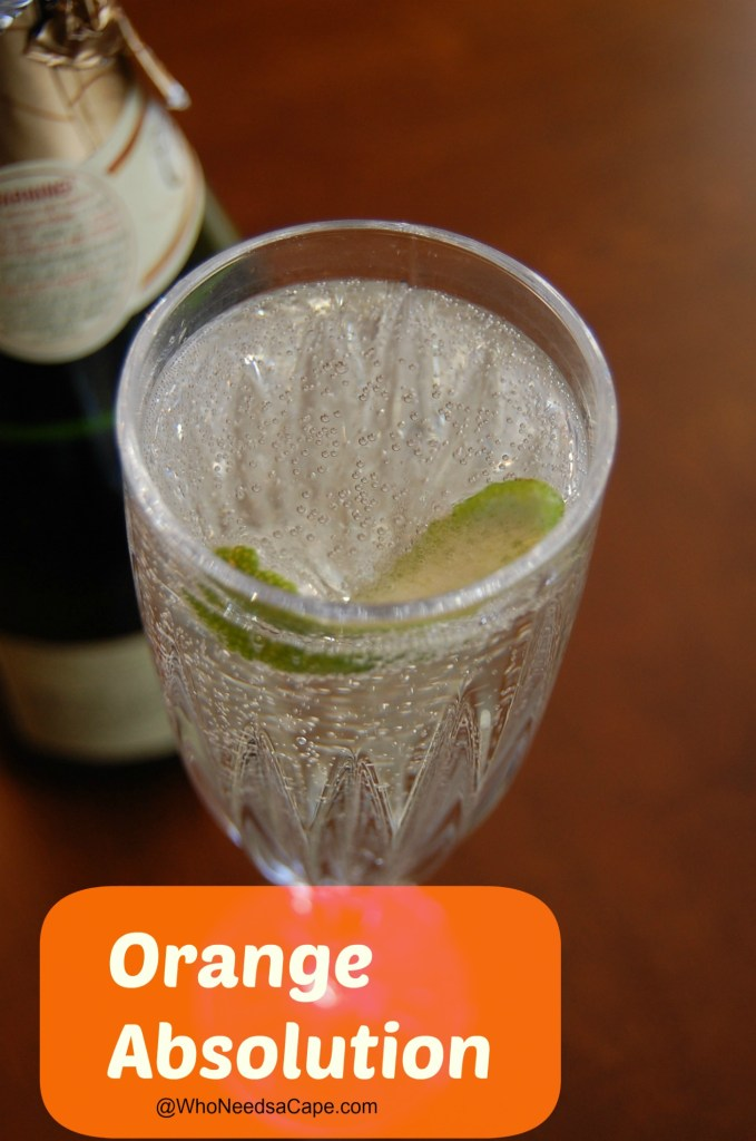 An easy cocktail to make that has great flavor - the Orange Absolution Cocktail  is a wonderful drink to make! Easy, make it and serve it soon!