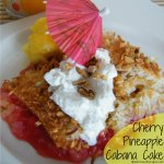 Cherry Pineapple Cabana Cake