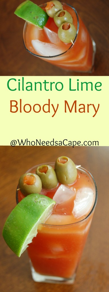 Cilantro Lime Bloody Mary Collage