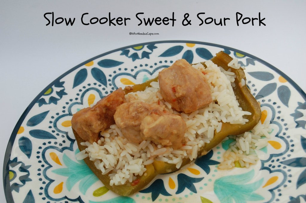 Don't do the overly sweet take out - use your slow cooker and make Slow Cooker Sweet and Sour Pork! Way better than take out - and cheaper too!