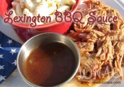 Lexington BBQ Sauce